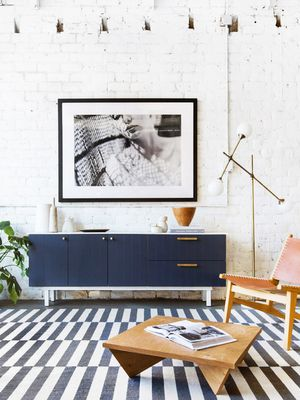 8 Insanely Cool Rooms That Started With an IKEA Area Rug
