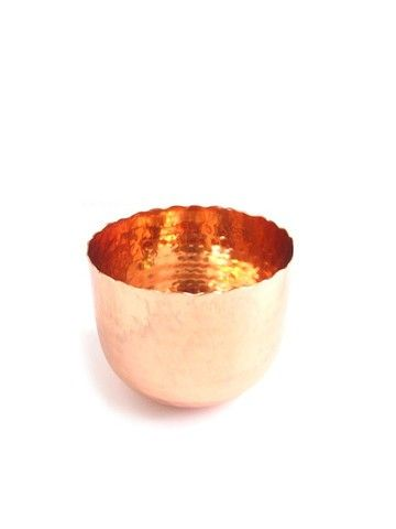 Dear September copper Hammered Pot