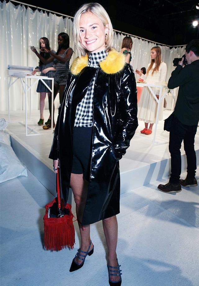 16: Unwittingly wear multiple trends in one look.