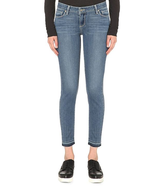 Paige Verdugo Ankle Ultra Skinny Mid Rise Jean