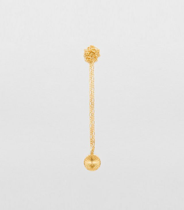 Cinco Eleonora Necklace In 24k Plated Gold