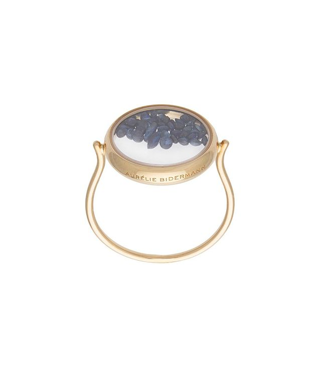 Aurélie Bidermann Chivor Ring With Sapphires