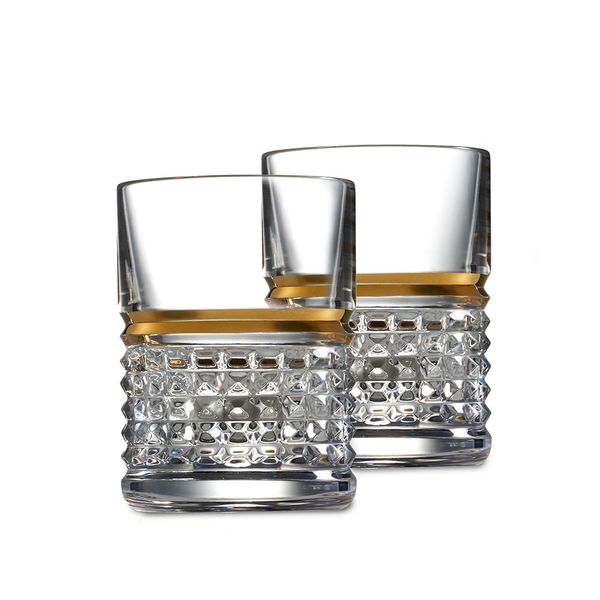 Waterford Crystal Rebel Shot Glass Pair
