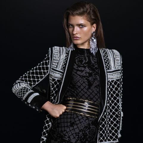 Balmain x H&M Look 1