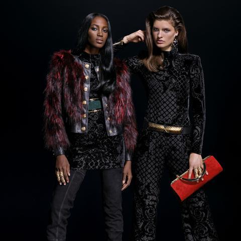 Balmain x H&M Look 9