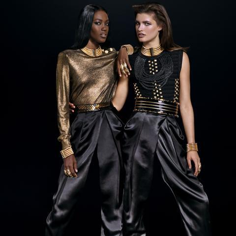 Balmain x H&M Look 11