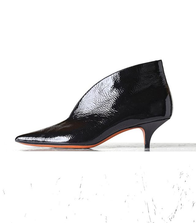 Céline Essential V-Neck Ankle Boots