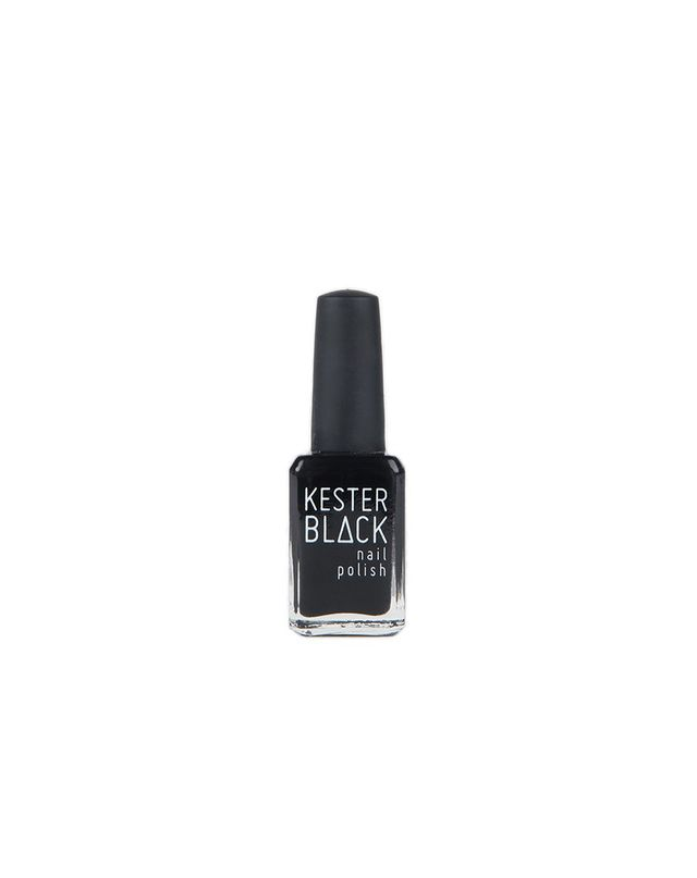 Kester Black Nail Polish in Black Rose