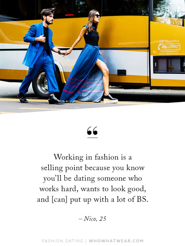 """""""I think there's a stereotype that people in the fashion industry are just these vain, uptight jerks (thanks, The Devil Wears Prada), so as an outsider that can be really intimidating when..."""