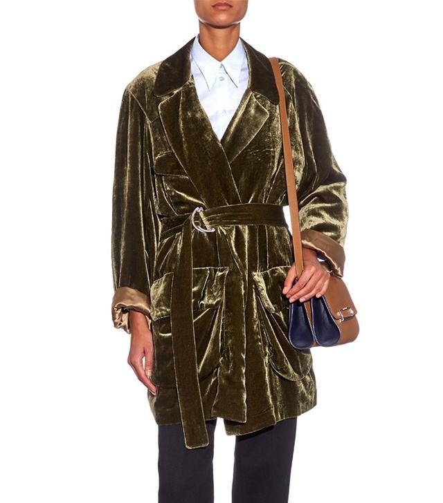Hillier Bartley Velvet Jacket