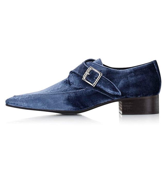 Topshop Kreative Velvet Shoes