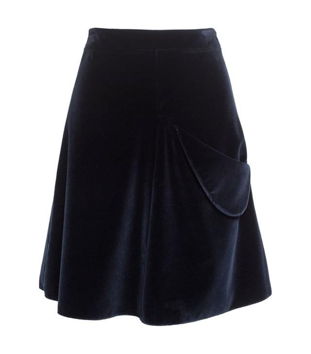 J.W.Anderson Velvet Mini Skirt