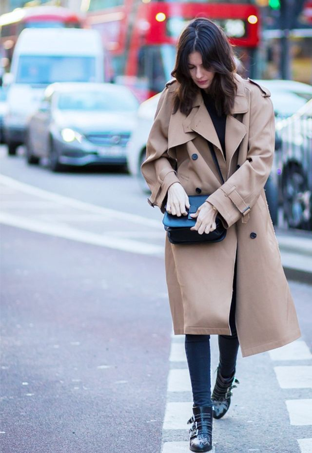 The trench epitomises sartorial style perfectly.It's the essential centrepiece to autumn's classic uniform.