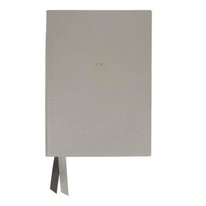 Smythson Soho 2015 Textured-Leather Diary
