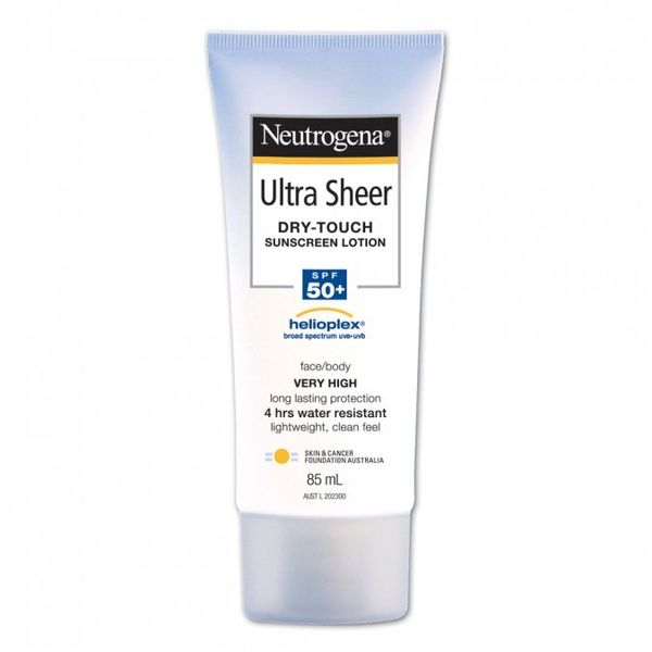 Neutrogena Ultra Sheer Body Lotion SPF50+ 85 mL