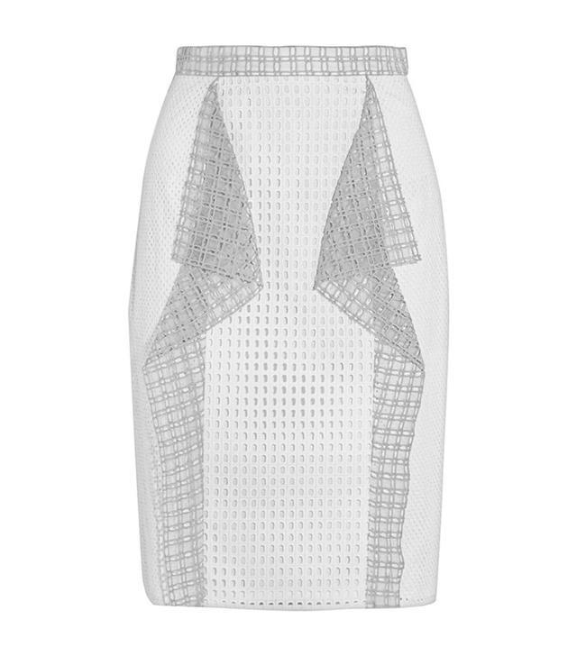 3.1 Phillip Lim Ruffled Broderie Anglaise Skirt