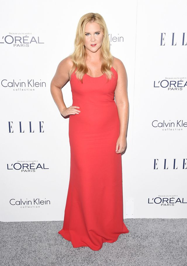 WHO: Amy Schumer