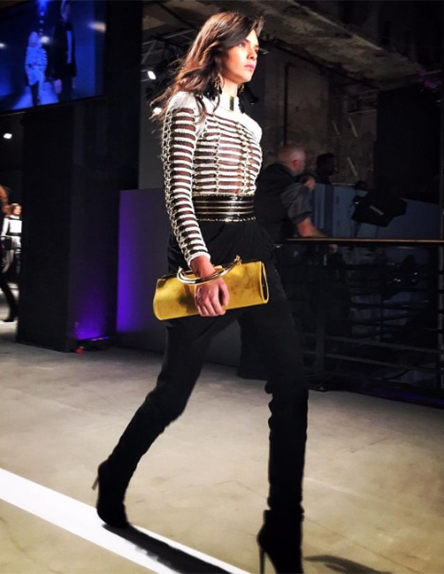 1. Kendall Jenner opened the show.
