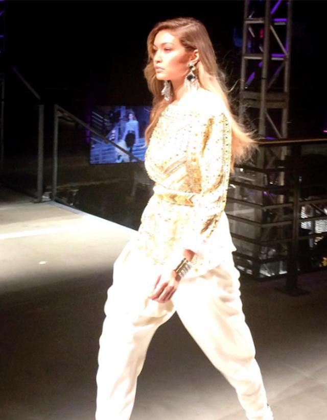 2. Gigi Hadid closed the show.