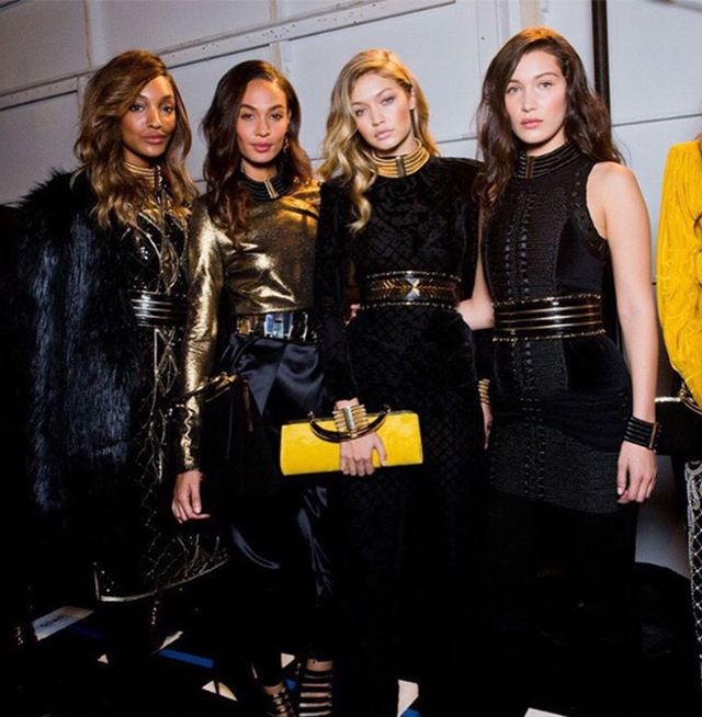 3. Every other supermodel walked too (Karlie Kloss, Joan Smalls, Jourdan Dunn, Bella Hadid, and more).
