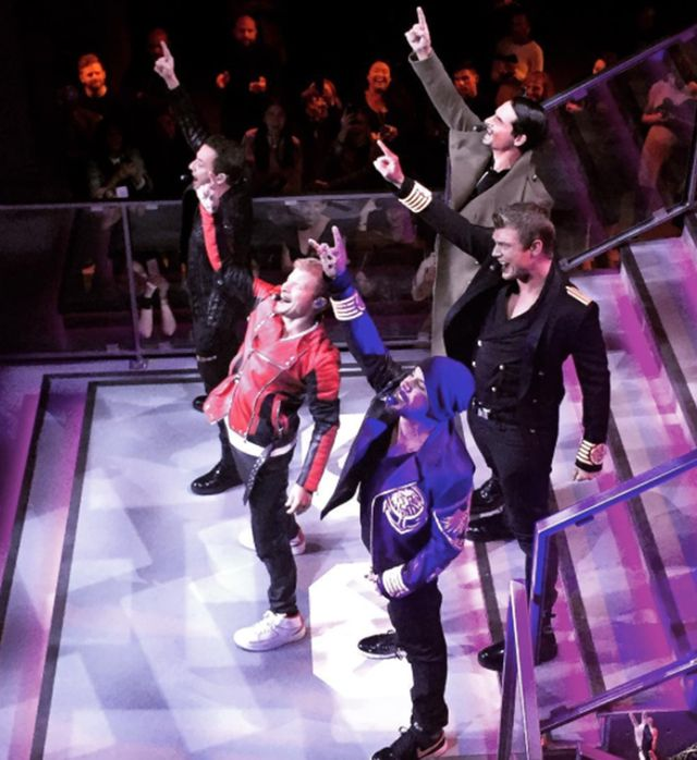 5. Oh, and the Backstreet Boys performed. Enough said.