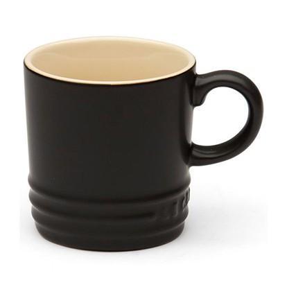 Le Creuset Satin Black Espresso Mug