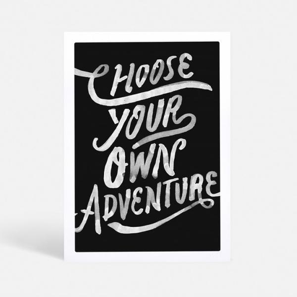 Blacklist Studio Adventure Print