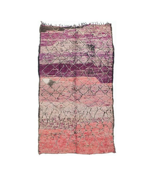 Klutz New York Purple Moroccan Rug