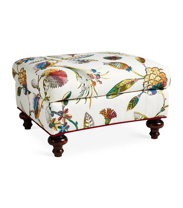 Massoud Furniture Emmet Ottoman