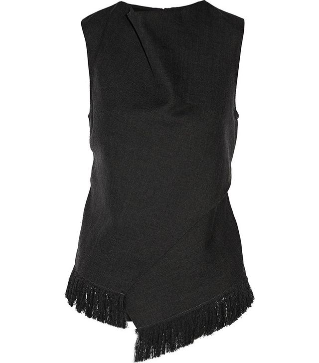 3.1 Phillip Lim Wool and Silk Wrap Top