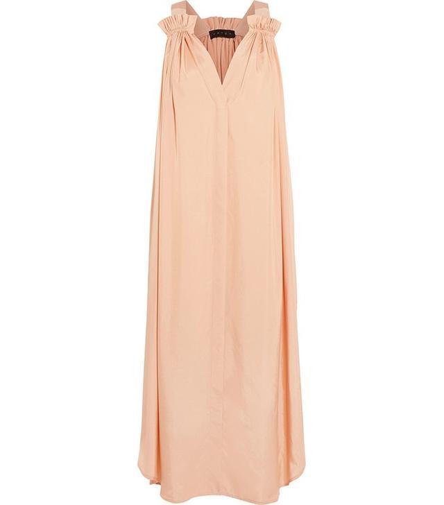 Hatch Lily Satin-Twill Dress