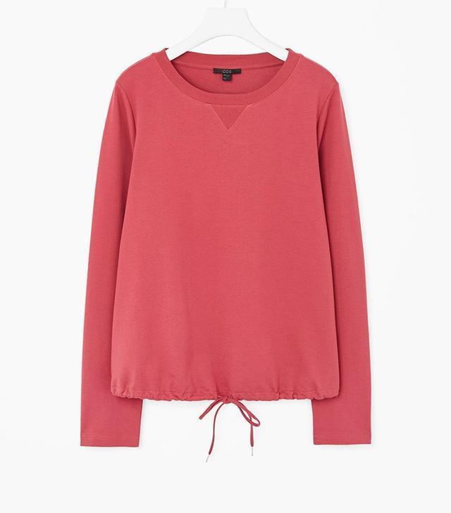 COS Drawstring Sweatshirt