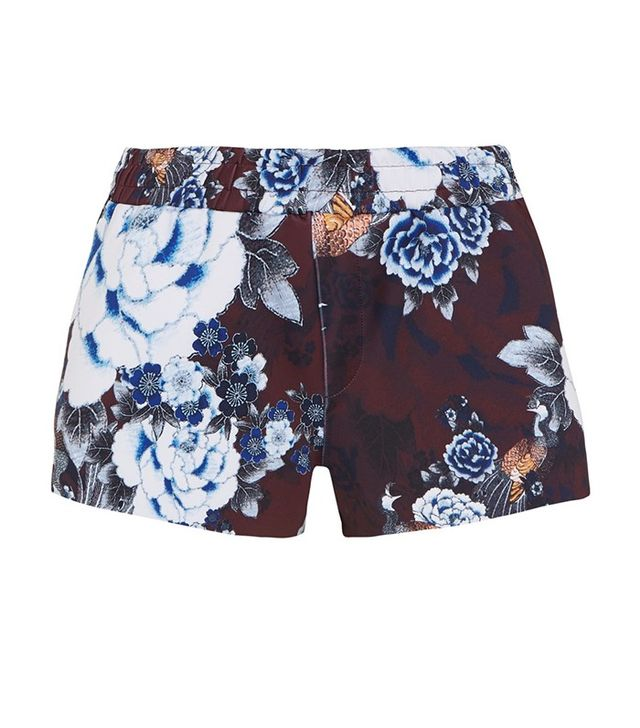 The Upside Floral Fitted Sports Shorts