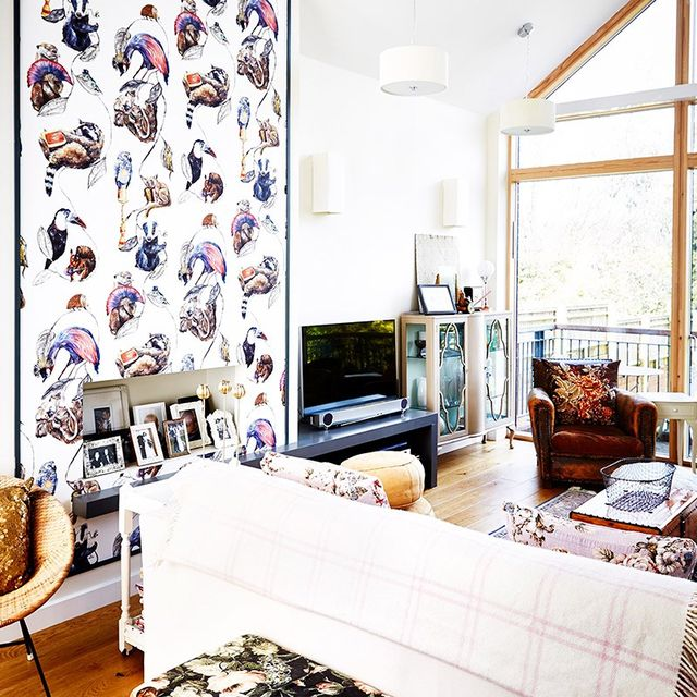 Inside an Interior Stylist's Eclectic Modern Townhouse
