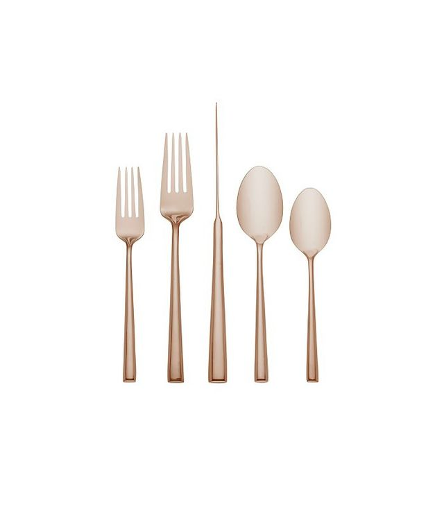 Kate Spade New York Malmo Rose Gold 5-Piece Place Setting, Set of Four