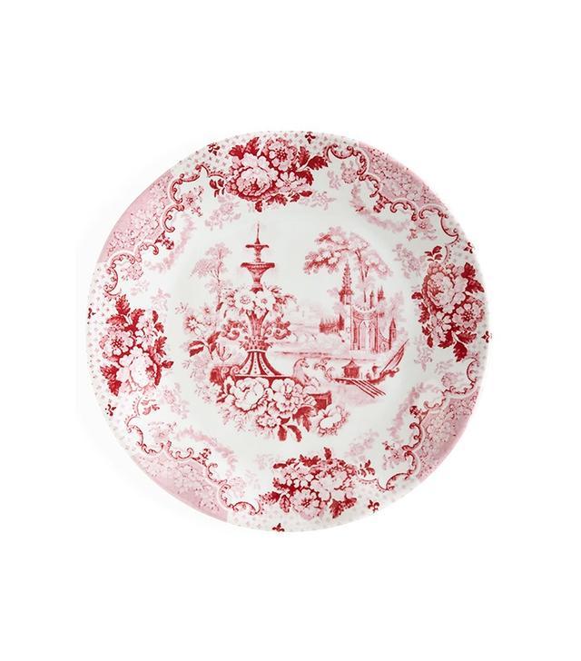 Neiman Marcus Cambridge Rose Melamine Salad Plates, Set of 4
