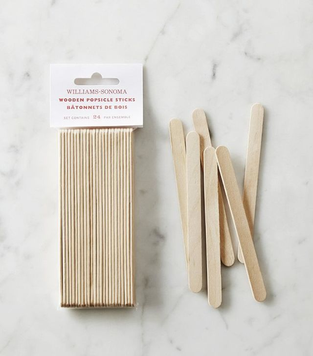 Williams-Sonoma Classic Pops Wood Replacement Sticks, Set of 24