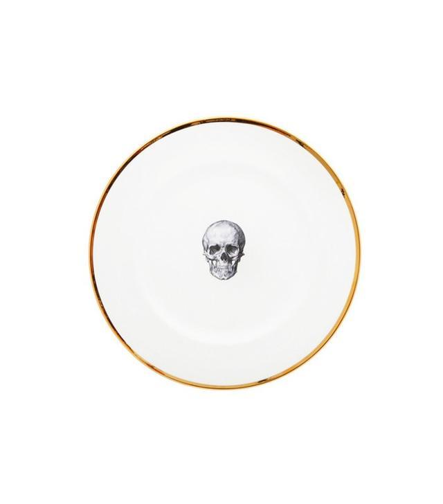 Melody Rose London Skull Dinner Plate