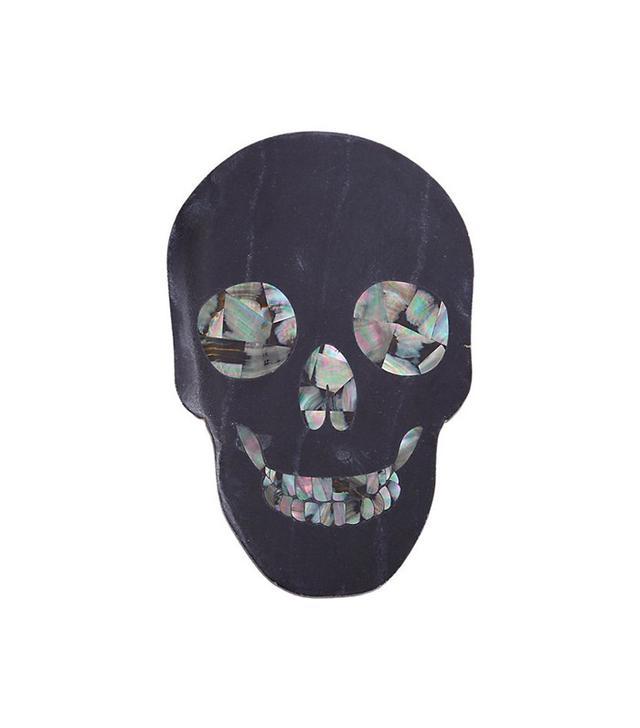 Thomas Fuchs Marble Skull Cheeseboard