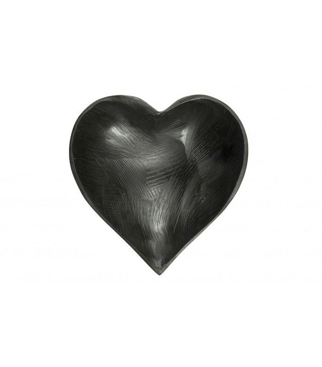 Jayson Home Black Heart Bowl