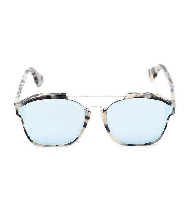 Dior Square Printed Frame Sunglasses