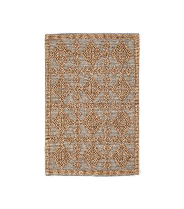 Dash & Albert Alpine Diamond Woven Wool Rug