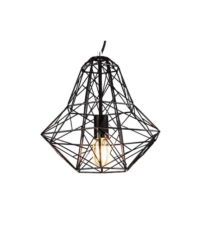Beautiful Halo Medium Cage Pendant Light