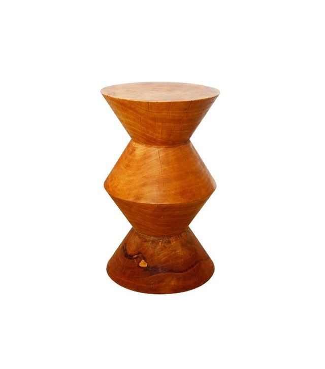Overstock Handmade 14 x 23 Oak Oiled Inverted 'V' Mango Stool