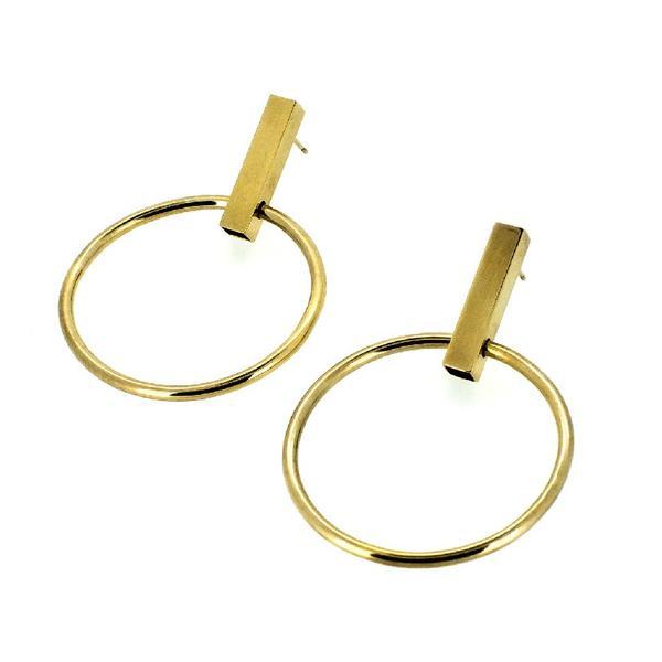 Holly Ryan Minimalist Hoop Earrings