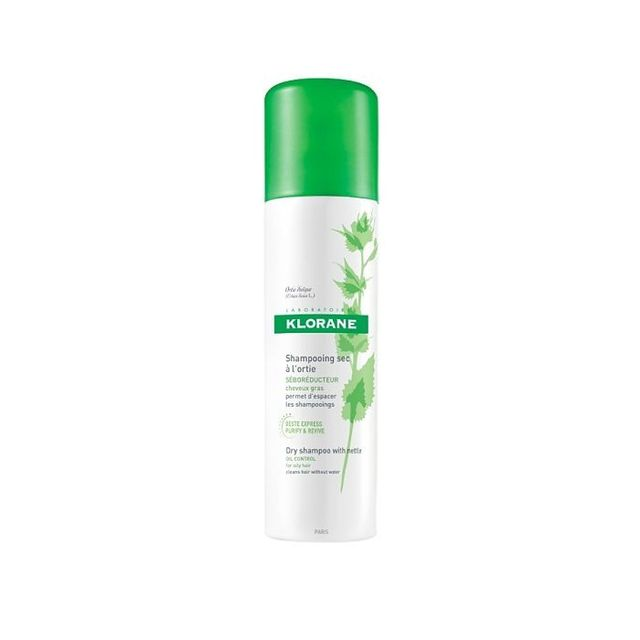 Klorane Dry Shampoo With Nettle Oil Control