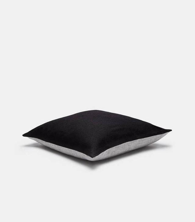 Tenfold Two-Tone Toss Pillow - Linen