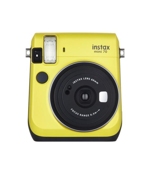 Fujifilm Yellow Instant Film Camera