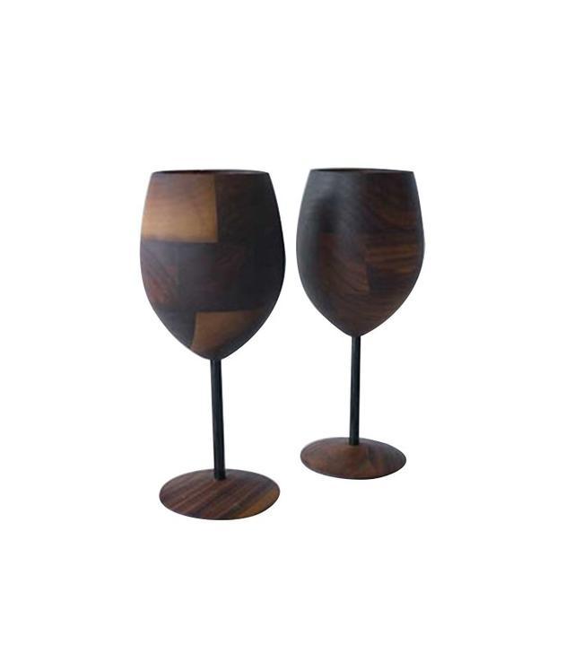 David Rasmussen Design Wud Wine Glasses