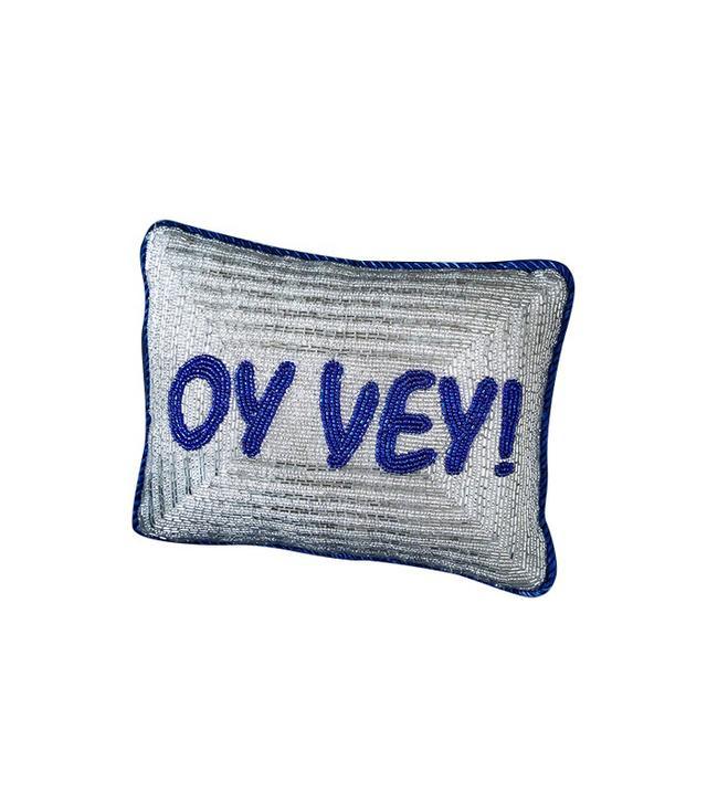 Sudha Pennathur Oy Vey Pillow